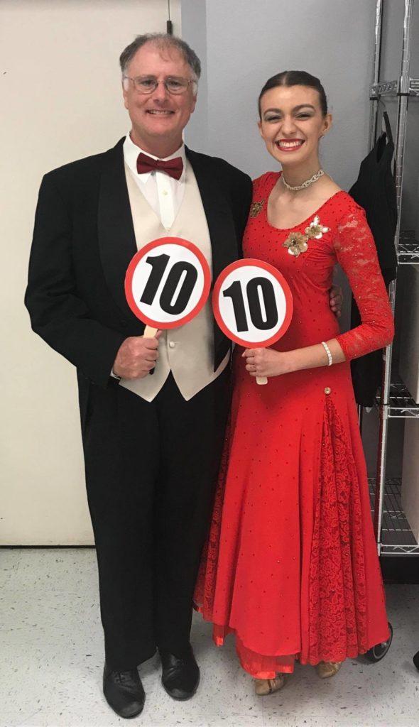 Michael and Tara at FBC Mel Christmas