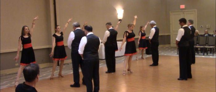 Dancin' Dance Formation at Showcase
